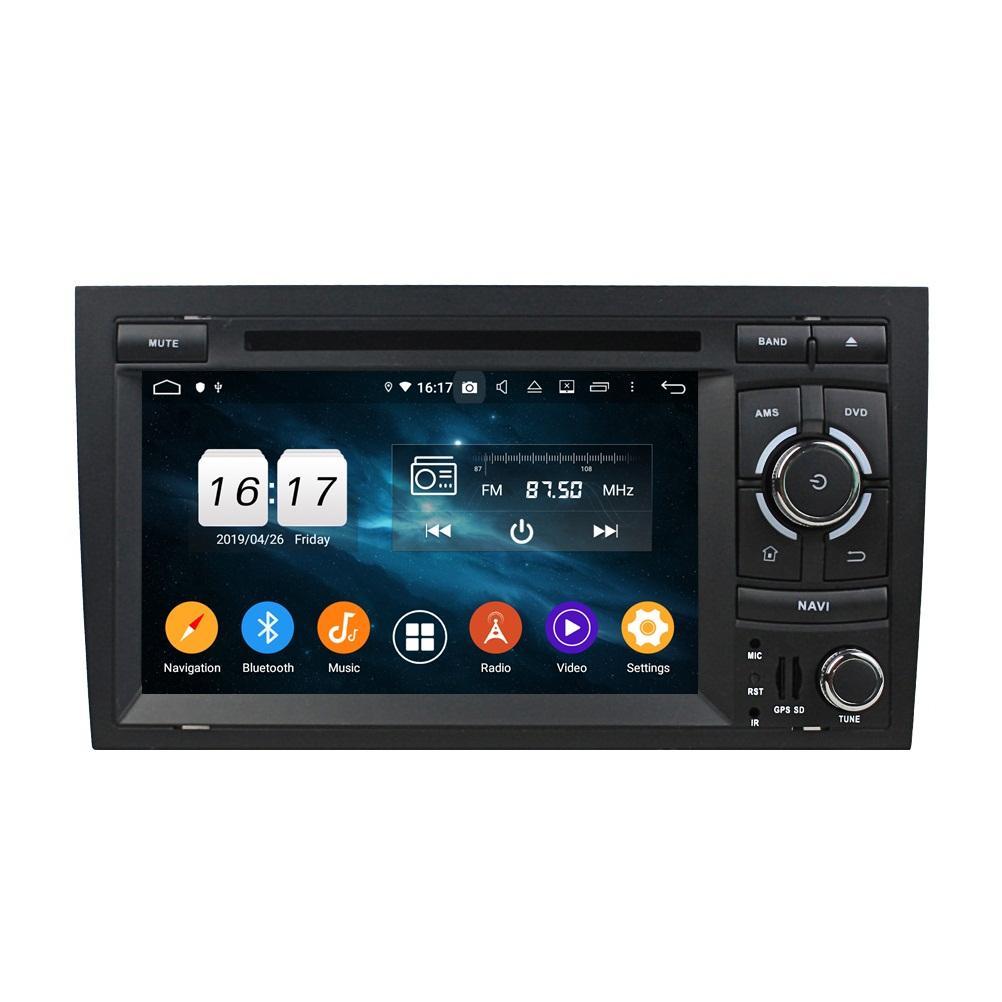 "4 GB + 128 GB 2 Din 7 ""PX6 Android 10 Araba DVD Oynatıcı Audi A4 S4 RS4 2002-2008 DSP Radyo GPS Navigasyon Bluetooth 5.0 Wifi Kolay Bağlan"