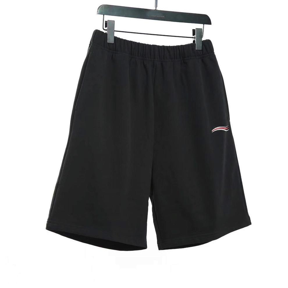21ss الرجال مصمم السراويل خطاب موجة المطبوعة sweatpants الصيف أوم كرة السلة مجلس السراويل القصيرة تيري الرباط ركض الهيب هوب