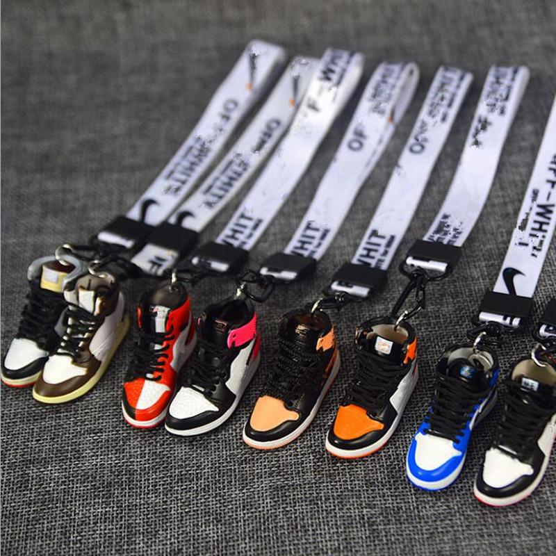 Der Serie Marke Key Pure handgefertigte Basketballschuhe Modell 3D Männer und Frauen Schlüssel Auto Schlüsselanhänger Ketten Einzelne Kreative Kollektion Handwerk 12 Arten