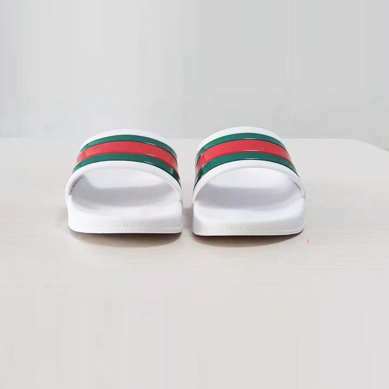 Sandalias de diapositivas de alta calidad Sandalias de diseño de lujo de verano de moda de verano ancho zapatilla para hombres y mujeres chanclas de sandalia EUR: 36-45 con bolsa de polvo ZLH