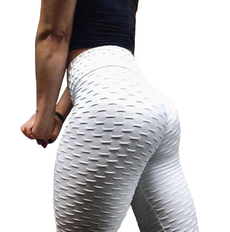 المرأة sweatpants رياضة طماق تنفس الجاكار اليوغا السراويل النساء الفلورسنت اللون مثير الورك رفع طماق الرياضة النساء