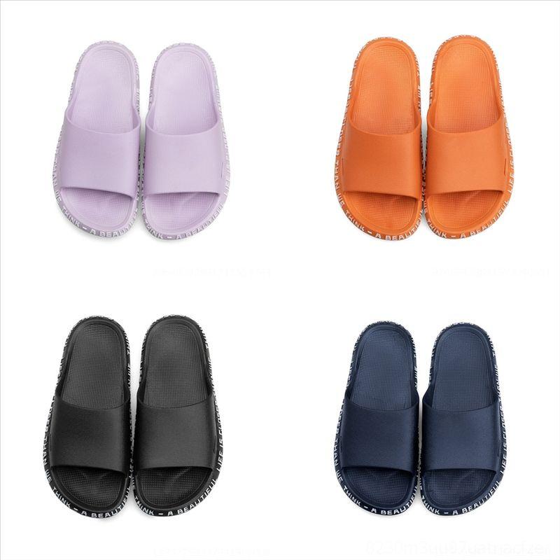 3SYV Bayan Terlik Bayanlar Metal Kilit Ile Yaz Deri Sandalet Tasarımcısı Kırmızı Kahverengi Sandalet Ayakkabı Plaj Beyaz Parti Dener Casl Terlik
