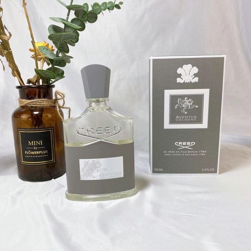 Profumo del credo 100ml 3.3oz Creed Aventus Colonia Uomini Profumi Fragranza Eau de Parfum Lungo odore Milliresime Spray Top Quality Disponibile