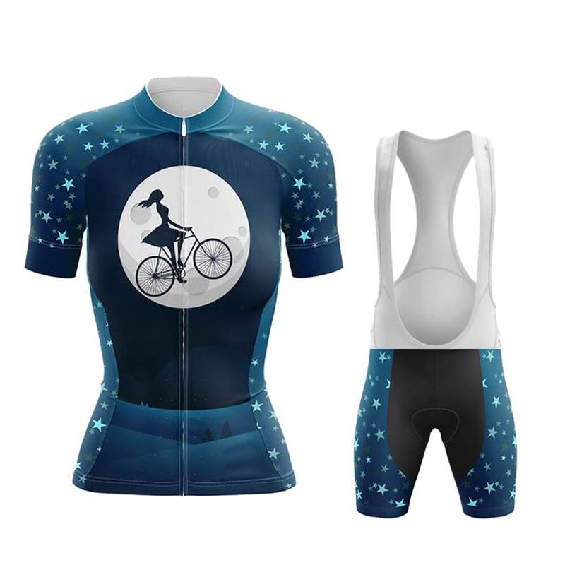 Conjuntos de Corrida 2021 Ciclismo Jersey Set Verão Vestuário Das Mulheres Camisas de Bike Camisas Terno Bicicleta Big Briefs MTB Equitação Desgaste Roupa Ciclismo Feminina