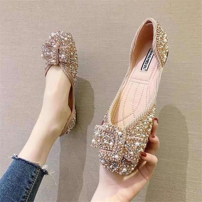 Sandálias verão plana senhoras ao ar livre designer moda strass mulheres sapatos grandes tamanho esportes 2021
