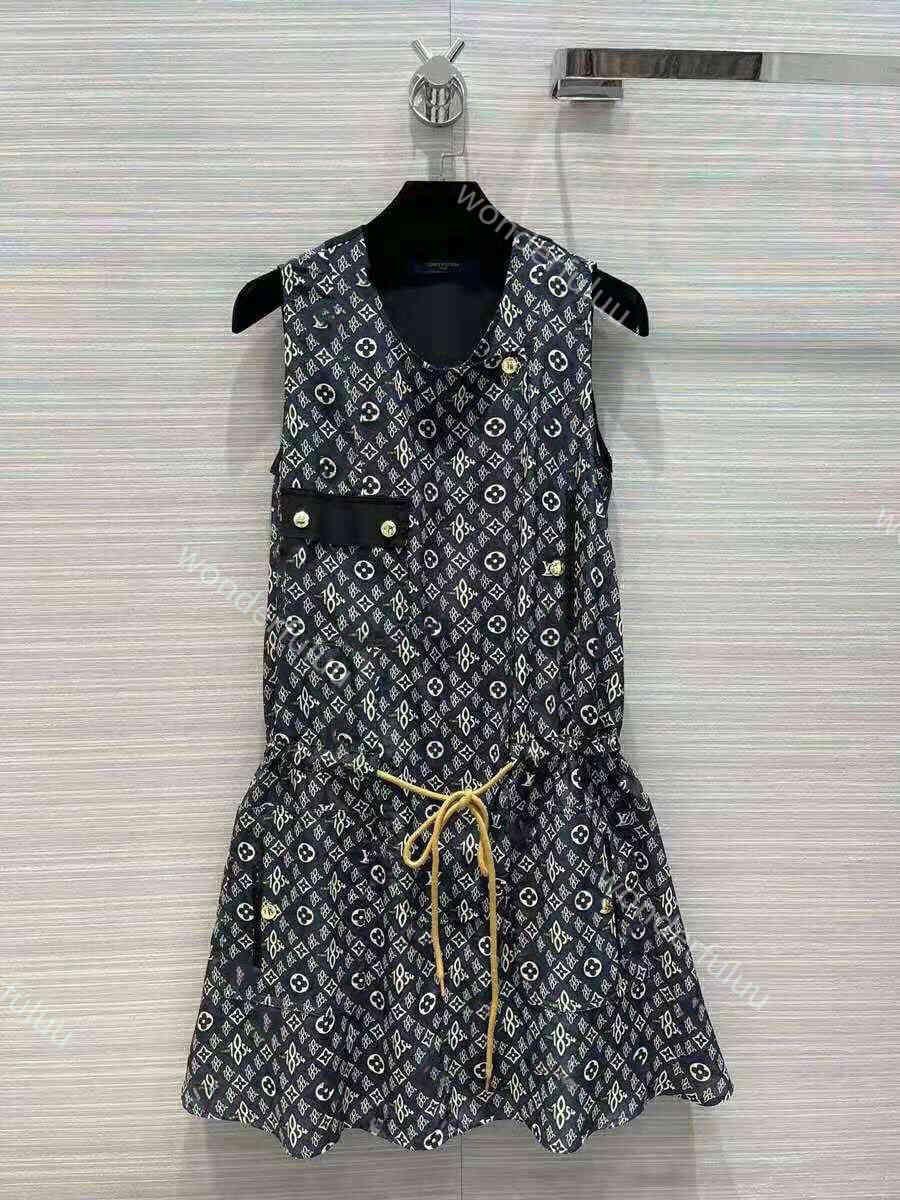 2021ss womens sleeveless dress great quality Women Designers Clothes letter print pencil dress girl belt decoration size SML