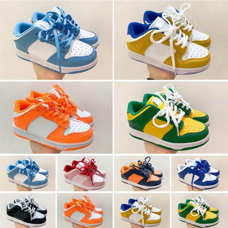 2021 أطفال sb سكيت أحذية البرتقال الألبان البقر st john's الأسود الأبيض البرازيل الساحل syracuse بنين فتاة طفل الرياضة المدرب حجم 25-35