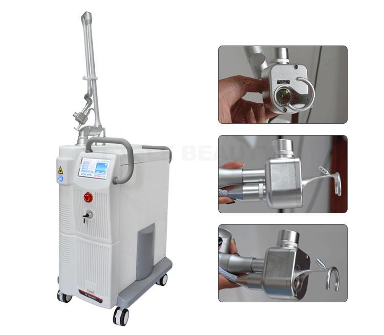 متعددة الوظائف CO2 آلة قطع ليزر ليزر ليزر ل Vagina ضيق العلاج تصبغ بقعة وعلاج المسام إزالة ندبة