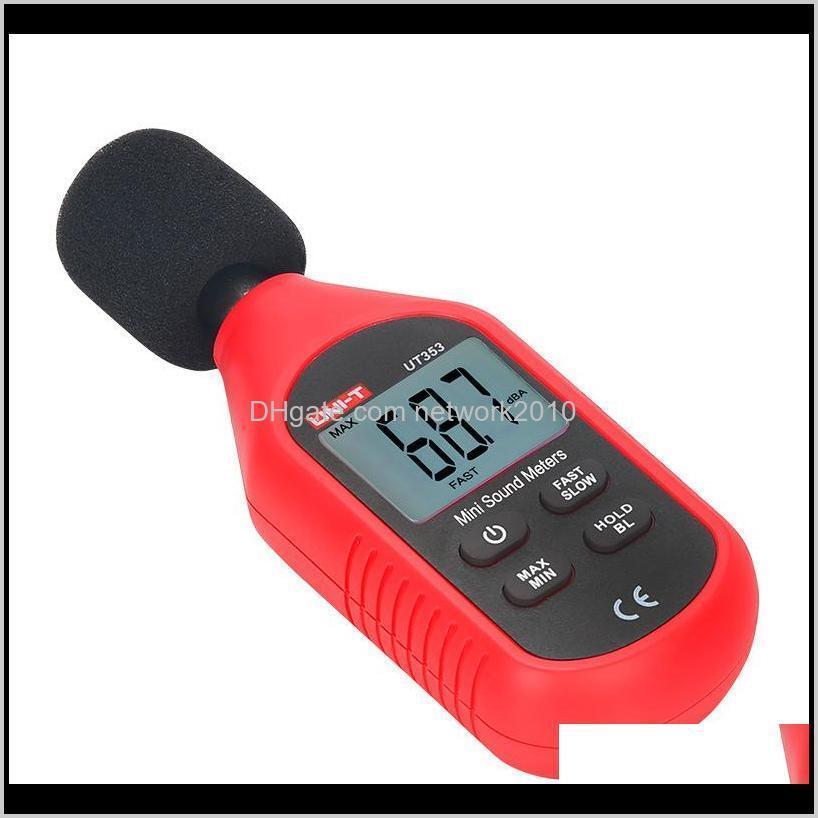 متر وحدة UT353 أداة قياس الضوضاء DB 300130DB مؤشر مراقبة مختبرات مصغرة O مستوى الصوت متر ديسيبل wi7vz 2hmud