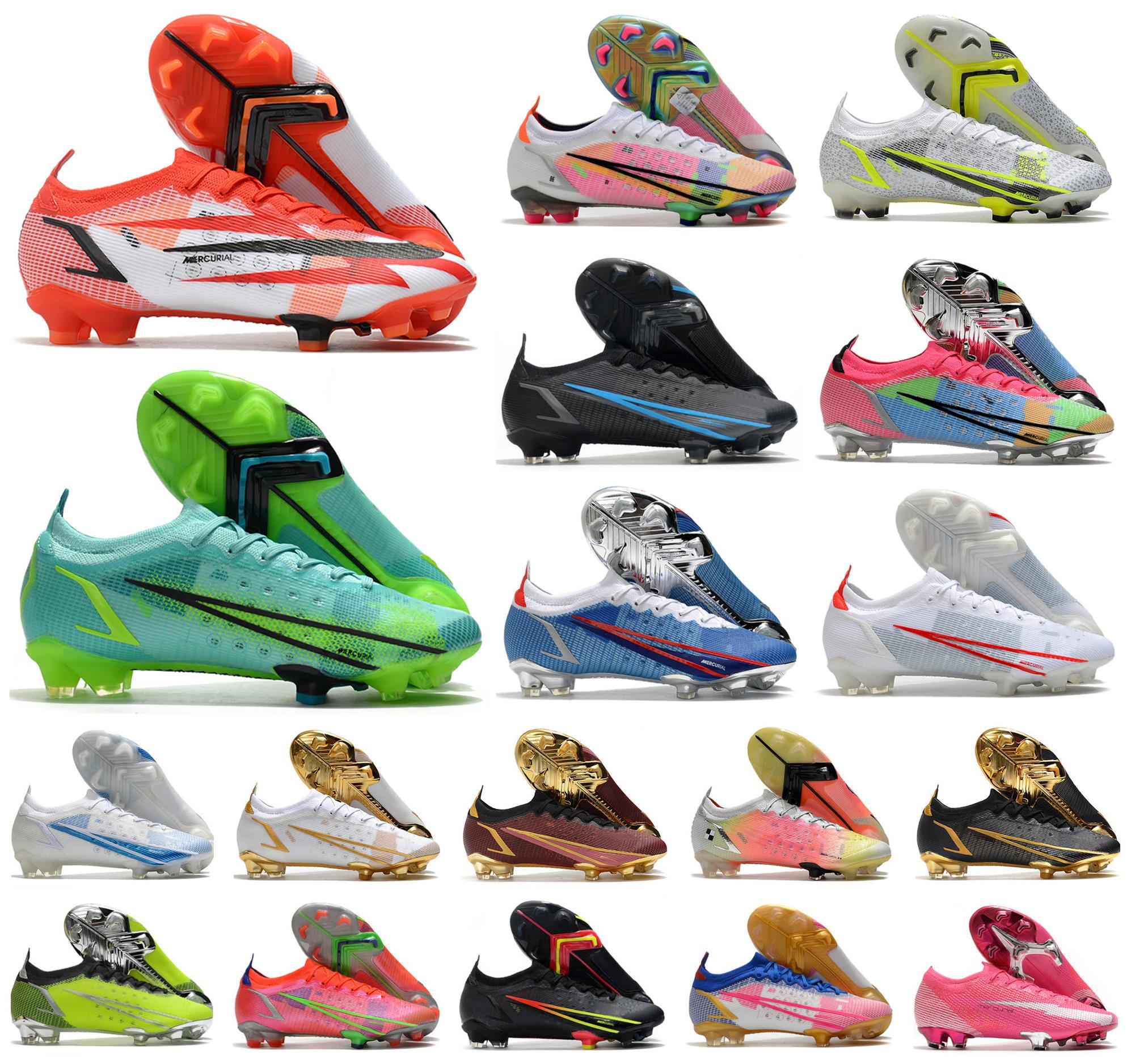 2021 Erkekler VA Pors Yusufçuk XIV 14 360 Elite FG Futbol Ayakkabı SE CR7 Ronaldo Impulse Paketi MDS 004 Düşük Kadınlar Çocuklar Futbol Çizmeler Cleats Boyutu 39-45