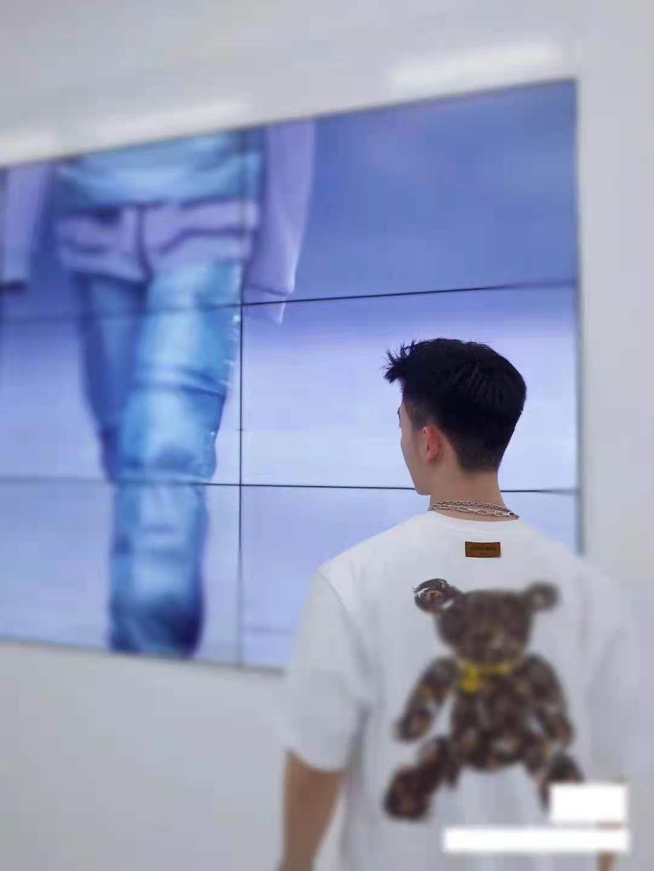 21ss hombres y mujeres diseñador camiseta de moda letra de moda impresión manga corta desgaste casual superior de alta calidad