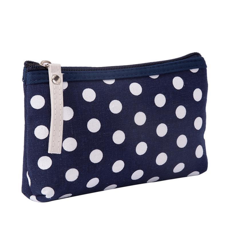 نقطة سستة حقيبة قماش جودة عالية أكياس بطاقة مفتاح مريحة المحمولة الصغيرة الزينة الطازجة التجميل التخزين لطيف حالات بسيطة