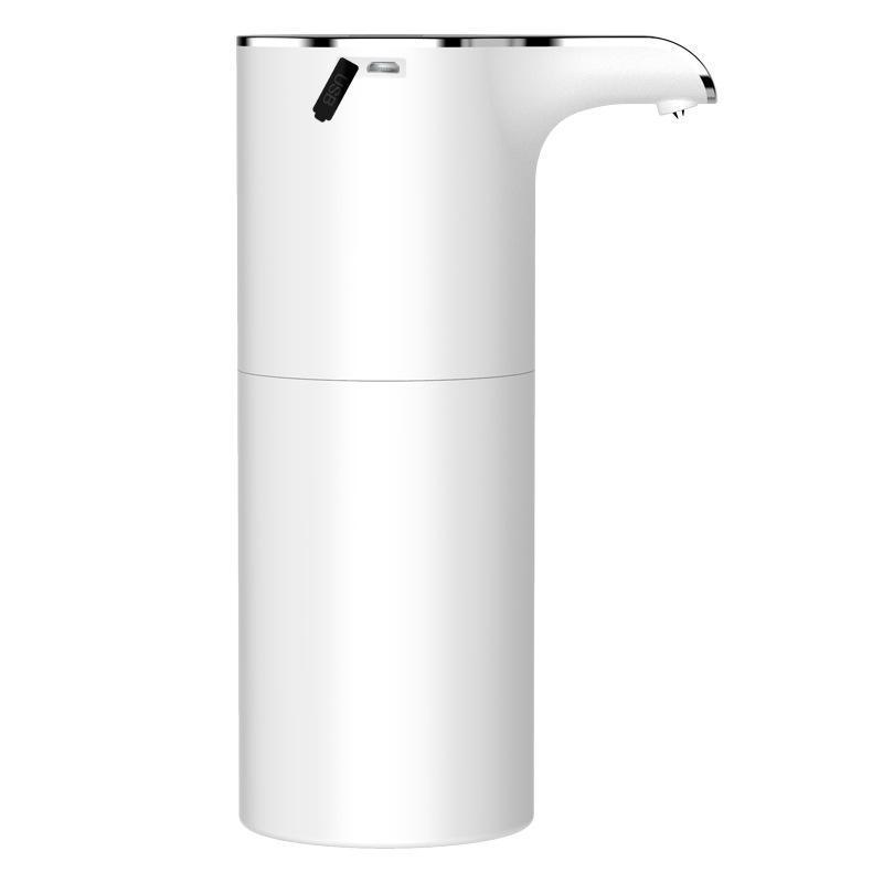 450 ml Sabun Dağıtıcı Otomatik Dokunmamış El USB Banyo EL Tuvalet Sıvı için USB Şarj Edilebilir Köpük