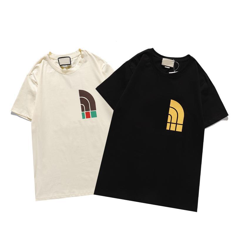 Maglietta estiva di lusso Mens Designer Tees Donne Hip Hop Famoso Brand Lettera Stampa Uomo Stilista Maniche corte Shirt Shirt M-3XL