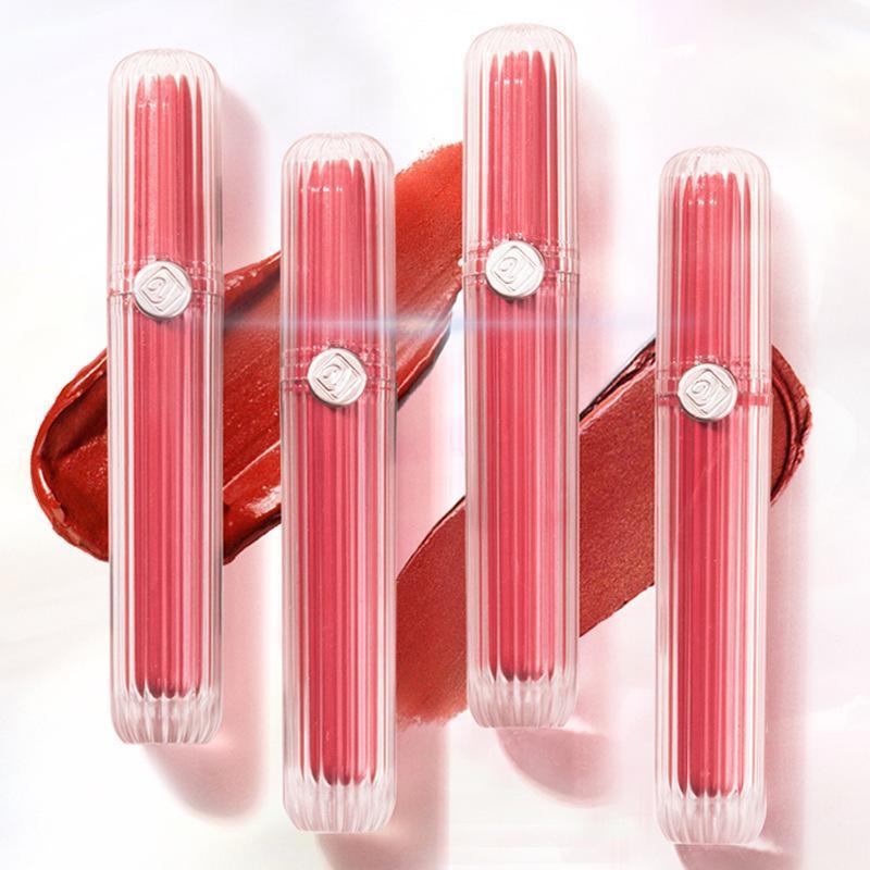 벨벳 부드러운 느낌 안개 가벼운 립 컬러 SSUMMER 화이트 매트 립스틱 광택을 쉽게 퇴색하기 쉽지 않습니다.