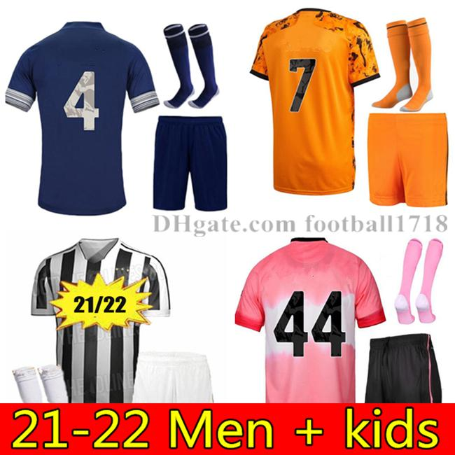 20 21 22 남자 키트 축구 유니폼 2021 2022 Mens Maillot de 발 맞춤 이름과 번호 Camiseta Futbol 축구 셔츠 짧은