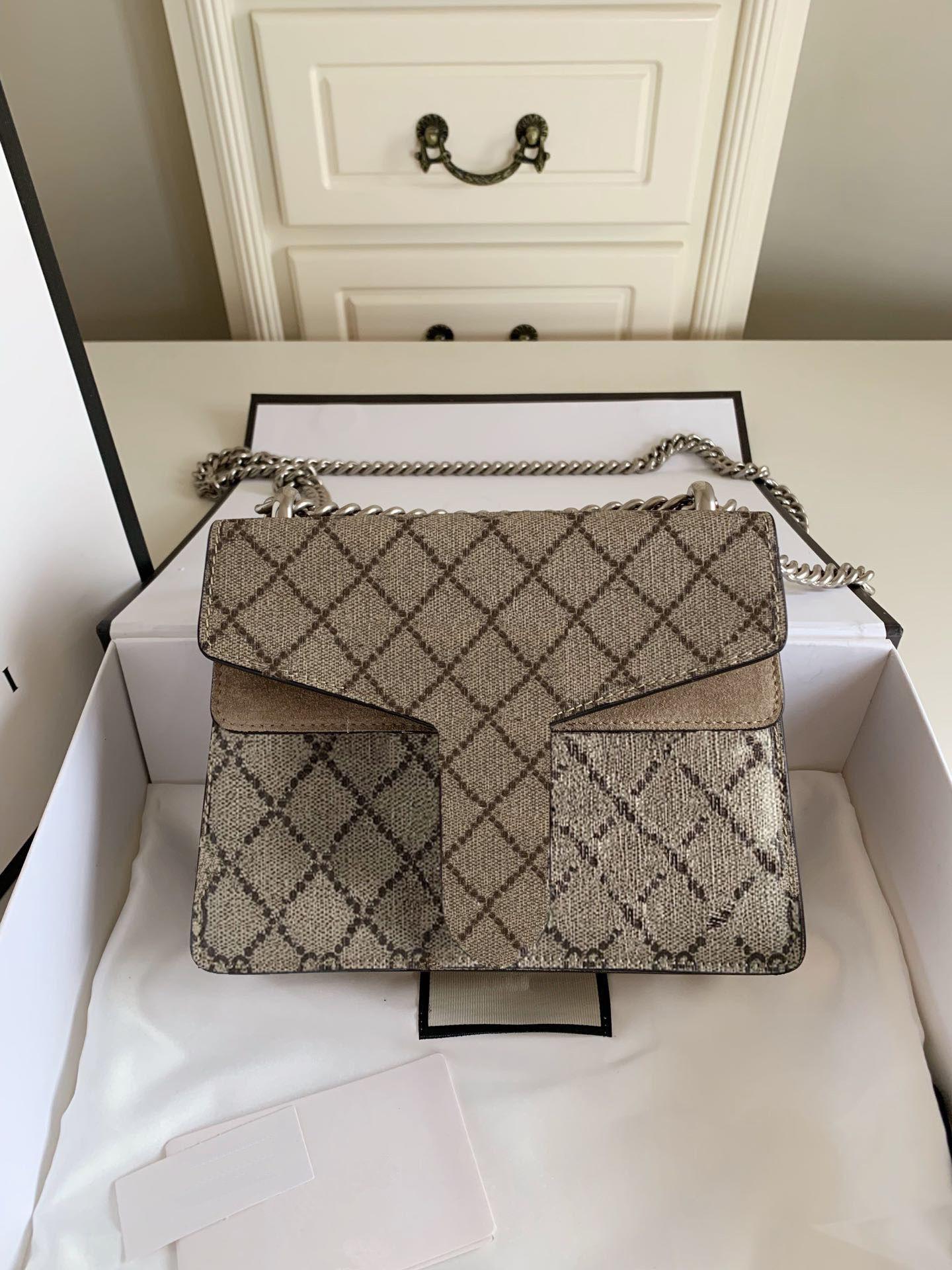 أزياء جلد طبيعي ديونيسوس البسيطة أعلى جودة يجب حقيبة مع 4 ألوان في 3 الحجم الأبنوس قماش العتيقة الفضة المنغدة الأجهزة