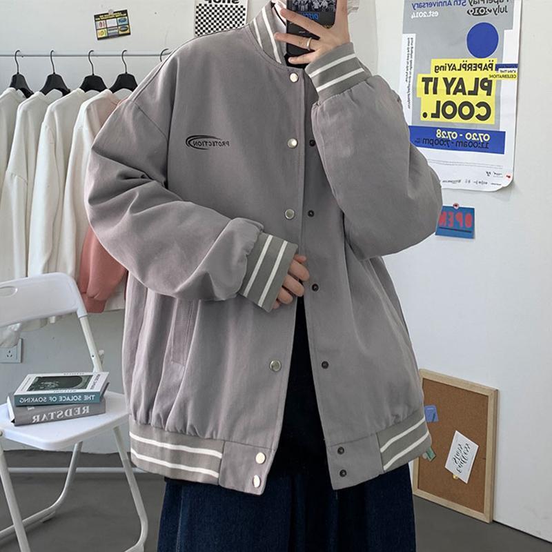 giacca, vestito da baseball di tendenza coreano nuovo sciolto da uomo, trendy br, versatile, grande cappotto bello in primavera