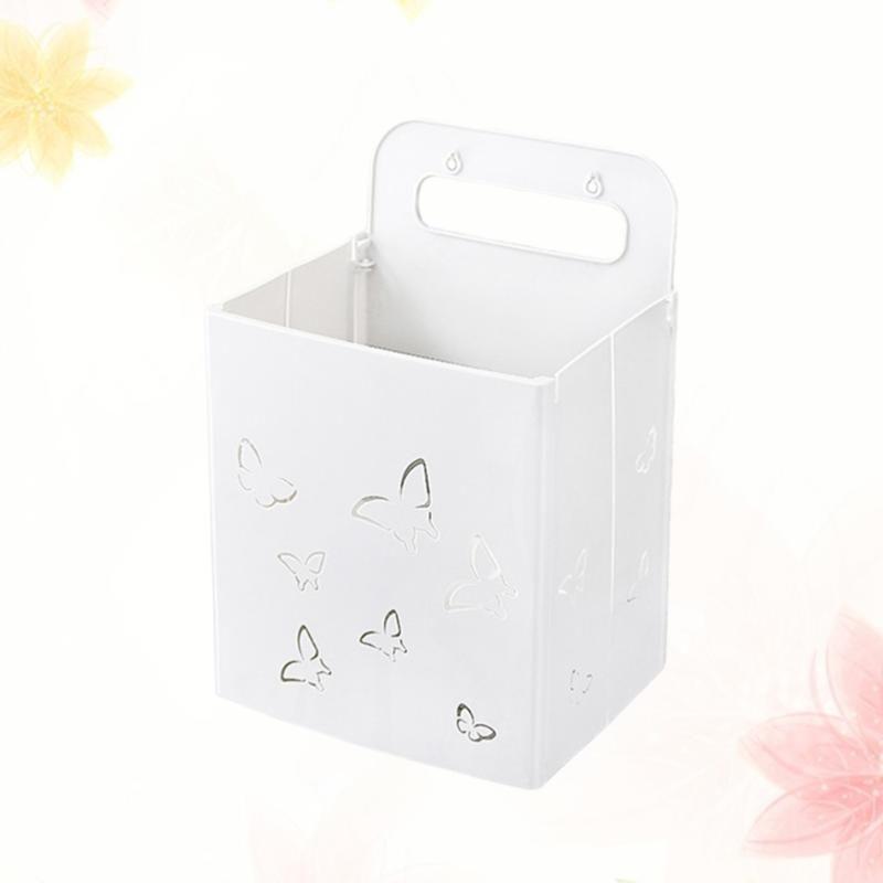 Hängende Wäschekorb Große Kapazität Wandmontage Container Lagerung Organizer Faltbare Box Haushaltsbedarf mit doppeltem Eine Körbe