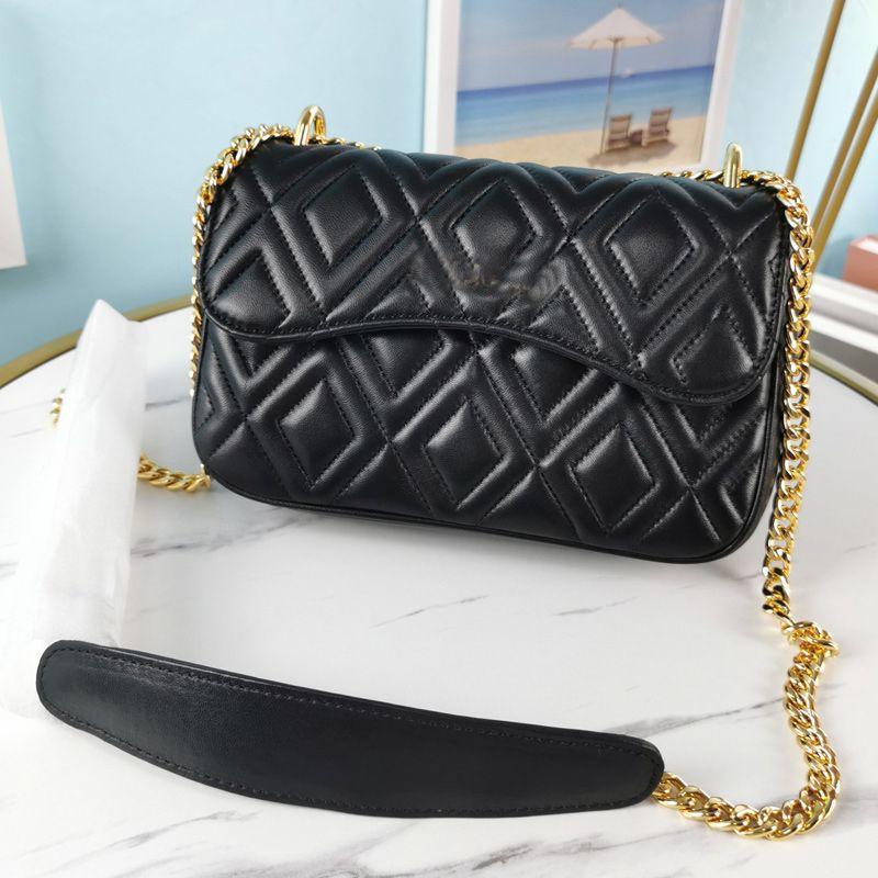Top Quality Handbags Wallet Sheepskin Leather Shoulder Bag Fashion Letter Vintage Chain Crossbody Bags Interior Zipper Purse Flap Quilted Handbag Clutch