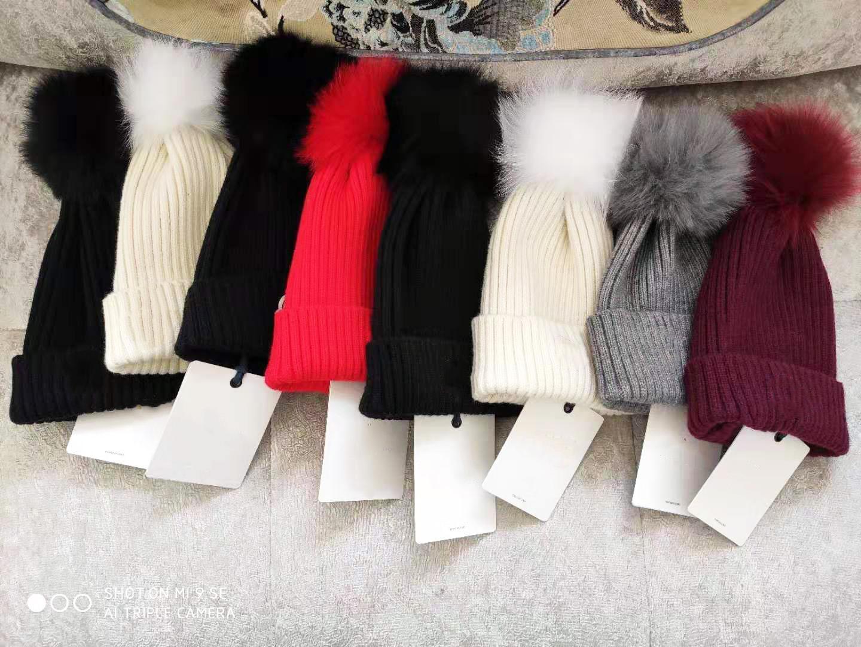 Rahat Tasarımcı Erkekler Ve Kadın Yün Kapaklar Örme Şapka Moda Bayanlar Kış Şapkalar Marka Caps Gelgit Nakış Yok Kutusu