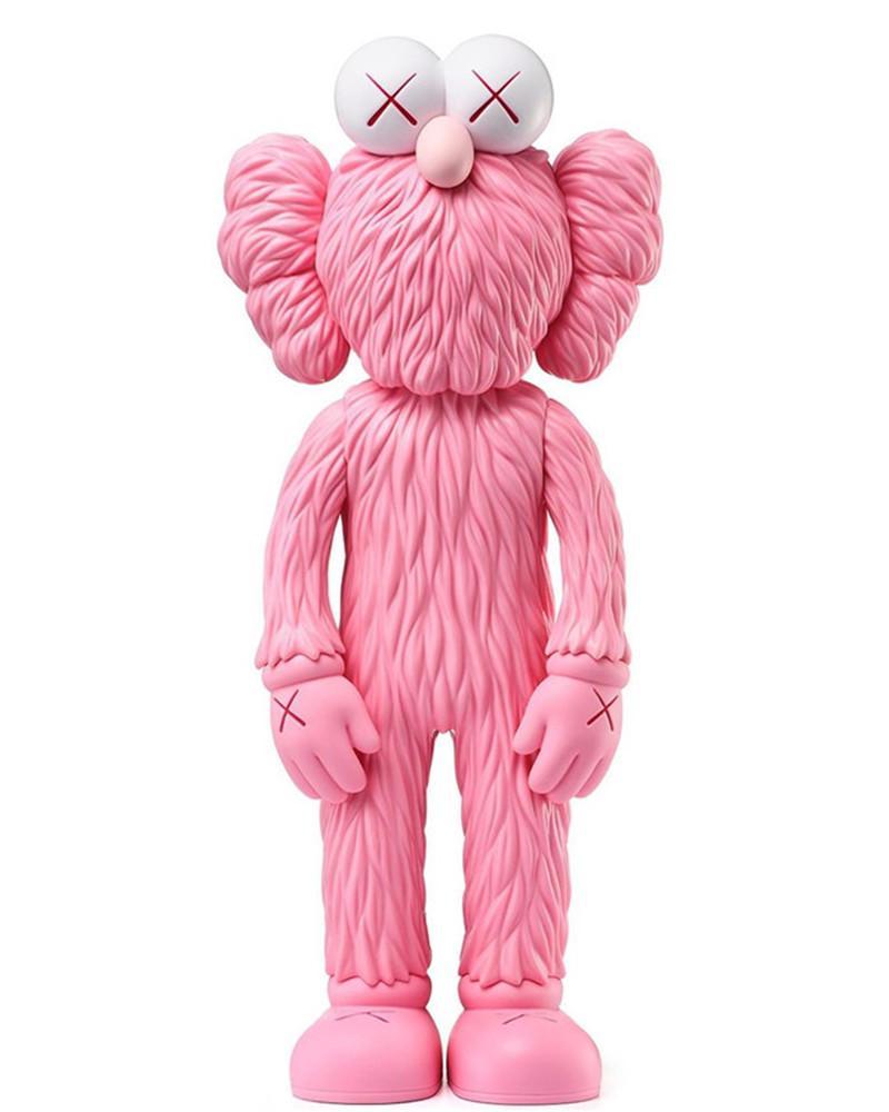 En Çok Satan 35 CM 0.6 KG Originalfake K A W S Ayakta Susam Sokak Arkadaş Orijinal Kutu Trend Action Figure Model Süslemeleri Oyuncaklar Hediye