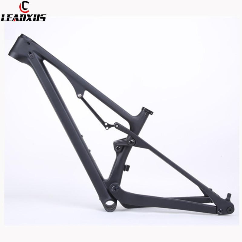 "LeadXus CV400 27.5 29 بوصة تعليق دراجة الكربون حجم 15.5 ""/17.5"" / 19 """