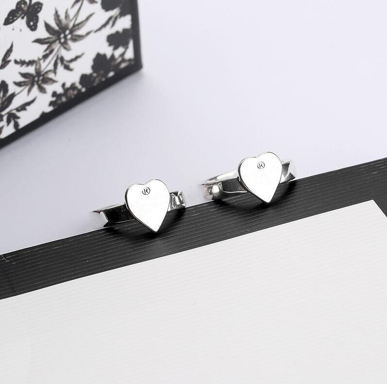 BESET بيع الفضة مطلي حلقة ارتفاع سبيكة حلقات أعلى جودة للمرأة أزياء بسيطة شخصية مجوهرات العرض مع مربع