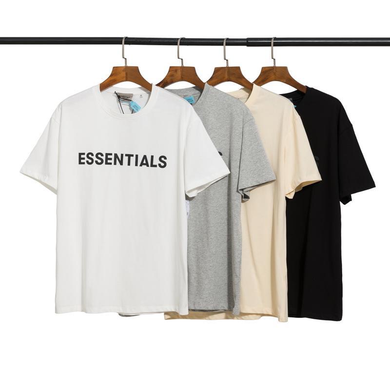 2021 homens mulher de algodão tee designer topo verão hip hop moda camisas soltas unissex homens mulheres tops oversize confortável t nevoeiro modelos-2