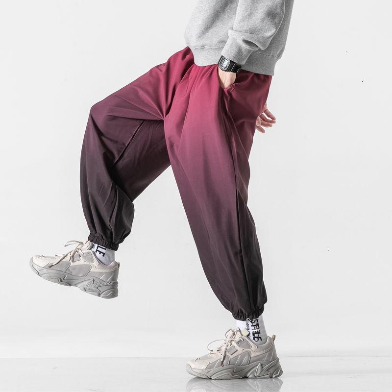 Одежда хип-хоп 2021 Гарм брюки Урожай уличная одежда Женщина брюки повседневная негабаритные брюки KPOP Neploha Мужская мода