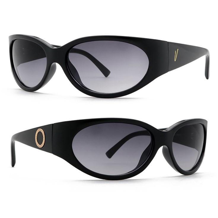 Gafas de sol Summer Man Woman Street Unisex Beach Gafas de sol de moda Marca de moda Marco completo UV400 Alta calidad