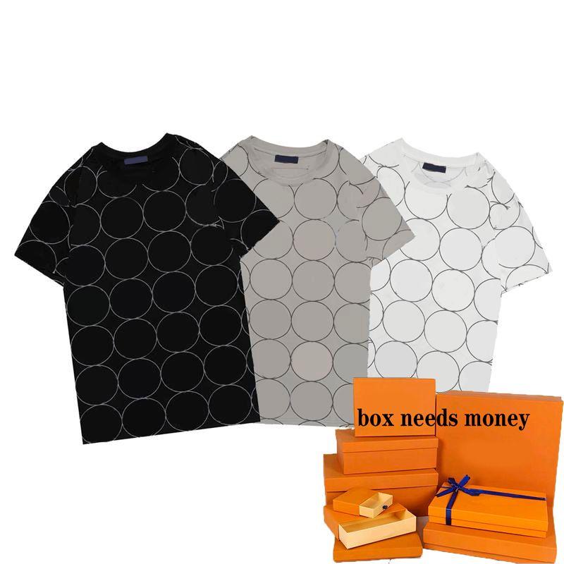 T gömlek 21ss erkek tshirt moda kadın yüksek kaliteli erkekler tee 3-renkler boyutu s-2xl