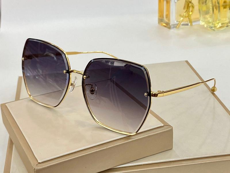 8032 Fashion Summer Cat eye style Gradient lens Sunglasses UV 400 Protection for Women Vintage square metal Frame Top Quality Come With Case classic eyeglasse