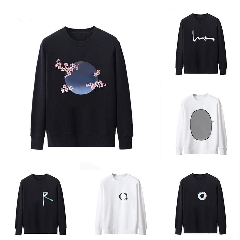 Herren Hoodies Klassische Designer Langarm Hip Hop Kapuzenlose Beiläufige Sweatshirts Männer Frauen Mode Gedruckt Briefe Hoodie Herbst Winter Pullover Kleidung