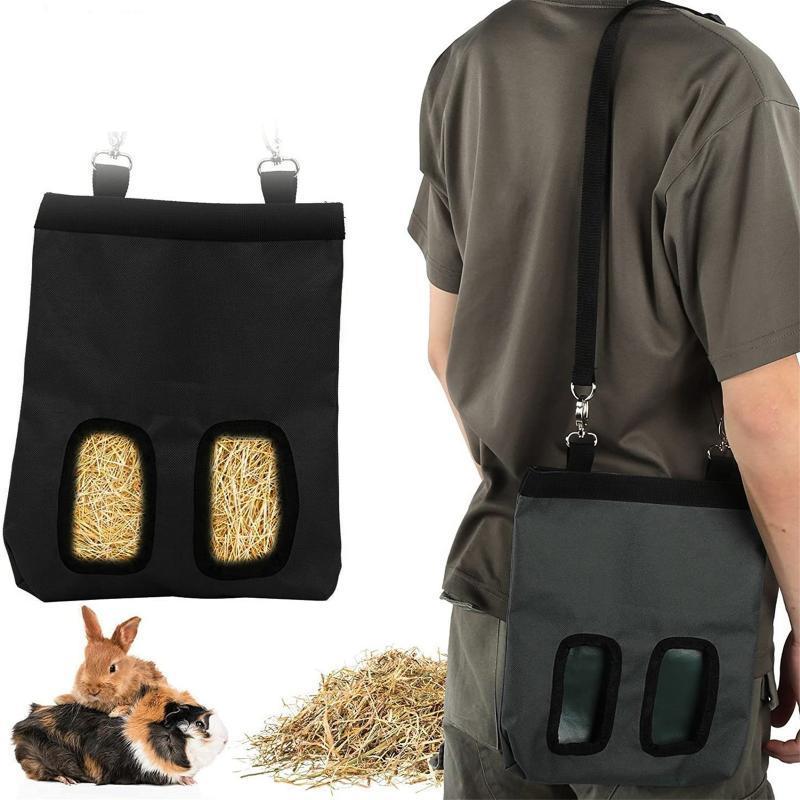 Accrocher H ^ AY Sac Feeder Device Dispositif Fournissez des sacs de rangement pour petits animaux en guinéa