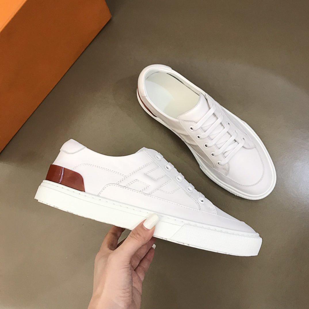 Yüksek kaliteli lüks tasarımcı ayakkabı erkek rahat spor ayakkabı, ithal buzağı derisi minimalist spor ayakkabı kutusu ile boyut38-44
