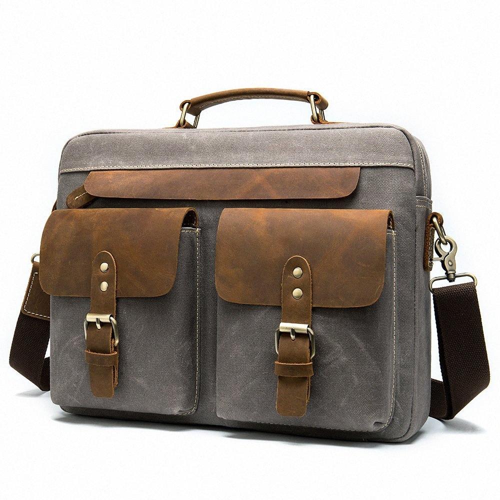 Mensagens dos homens malas de couro Bolsas de escritório do vintage bolsas laptop bolsas de couro malas de couro masculino advogado malas backcases k5cy #
