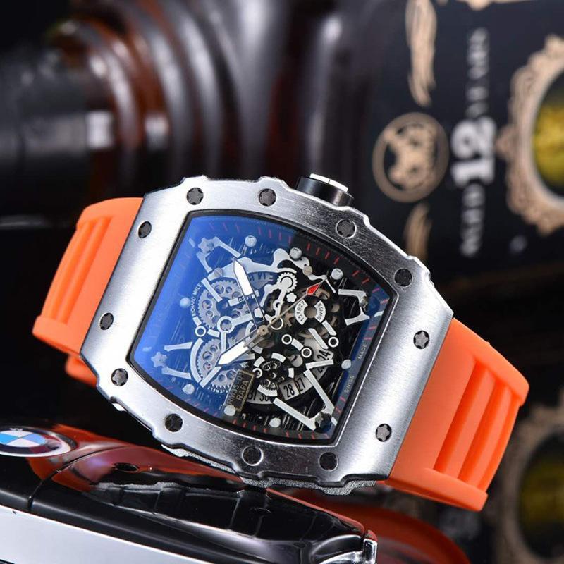 멀티 컬러 풀 컬러로 손목 시계 패션 캐주얼 남성용 시계