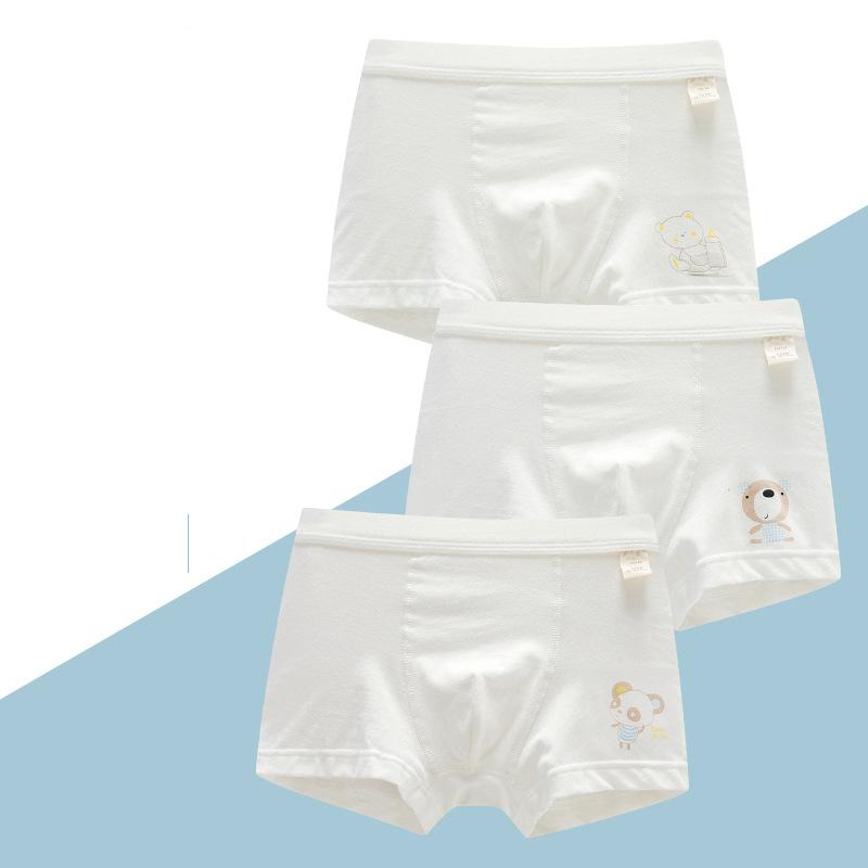 3 Pcs/lot Cotton Girls Underwear Cartoon Bear Print Teen Panties for 10 12 14 Years Baby Girl Clothes Girls Underwear Teenage 210430