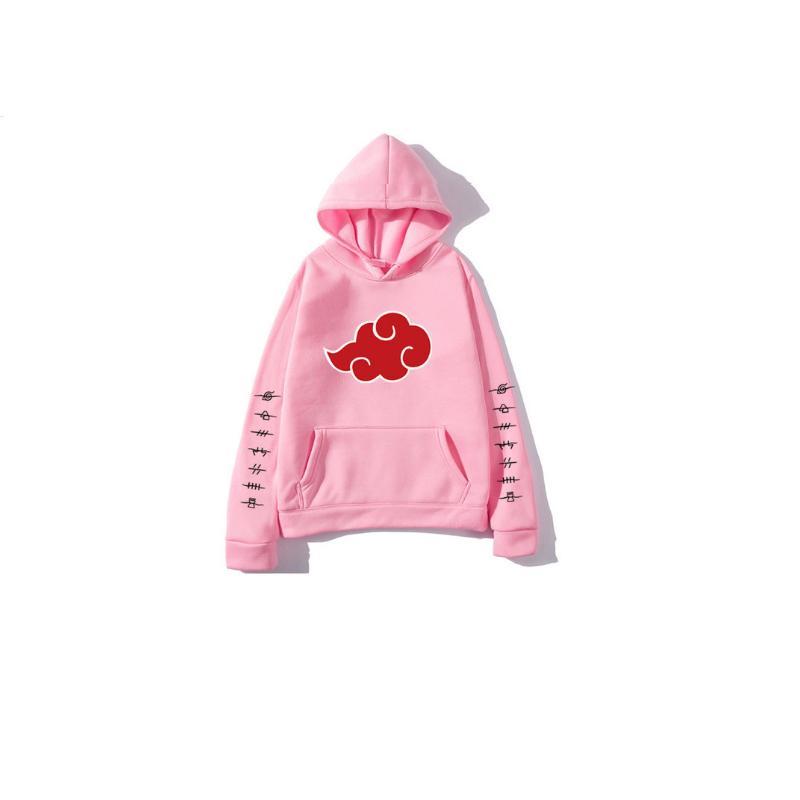 Men's Hoodies & Sweatshirts Novo Inverno Anime Senpai Design Impressão Lã Moletom Masculino Feminino Streetwear Engraçado Preto Homem Com Ca