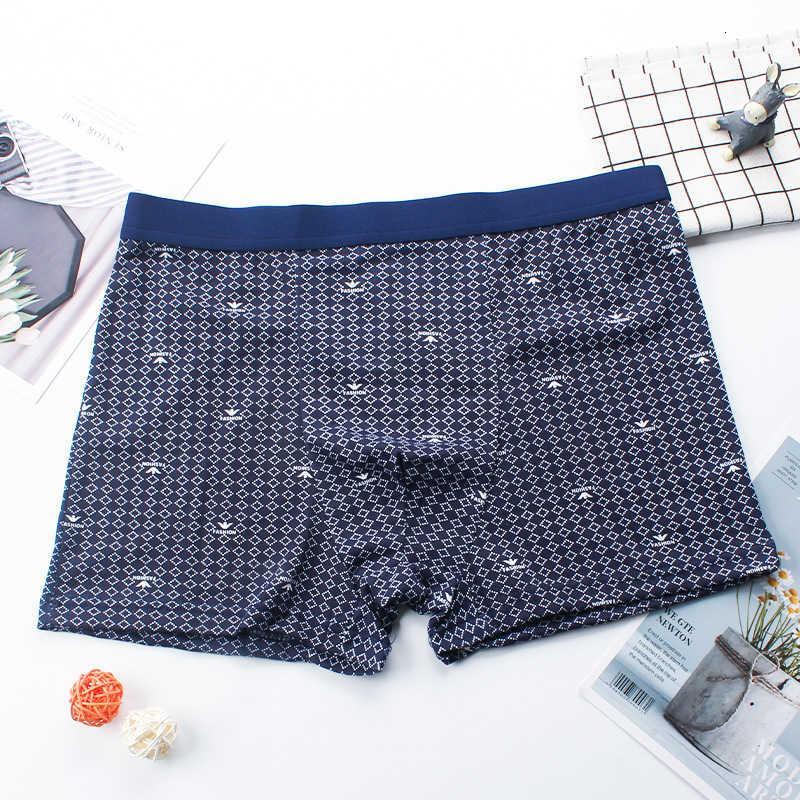 Boxer Underwear Underwear U-custodia U-custodia a vita media Borsa traspirante Pantaloni del quarto dell'anca Grande