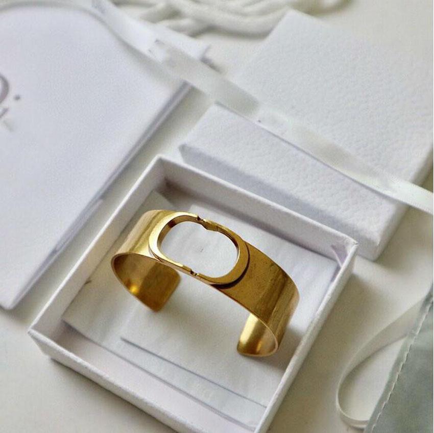 Fashion Brand Letter Apertura Braccialetto regolabile Braccialetto Braccialetto di lusso Braccialetti per le donne Lady Wedding Lovers Regalo Engagement Hip Hop Jewelry