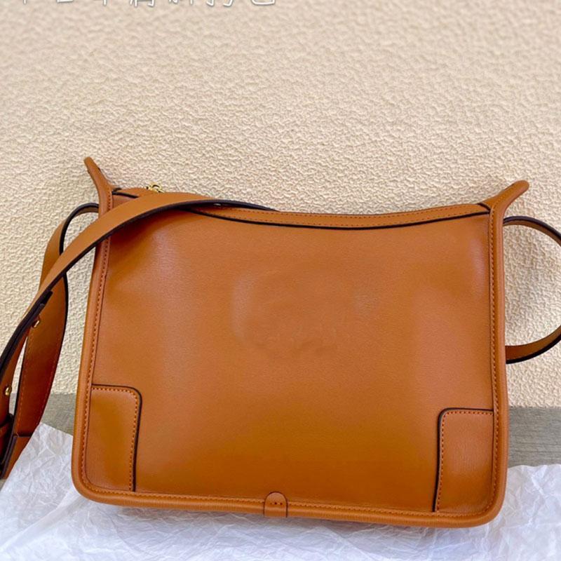 Sac de voyage sacs à bandoulière sac à main en cuir authentique en cuir plain intérieur zipper lettre inclinée couverture dorguille accessoires femmes sac à main