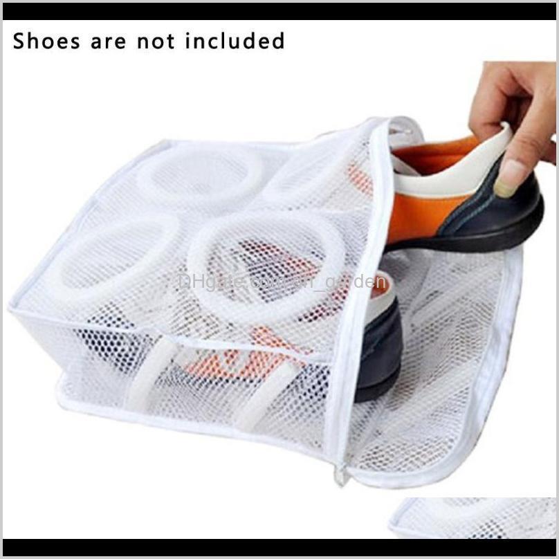 حذاء كسول غسل حقيبة الجلب سميكة تجفيف الهواء وحماية شبكة تخزين أكياس bylzs vwny2