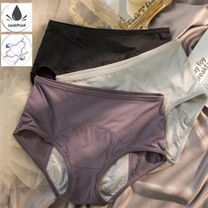 سراويل الحيض براجاس مثير داخلية للنساء ملخصات القطن زائد حجم الملابس الداخلية calcinha السراويل culotte فترات المرأة