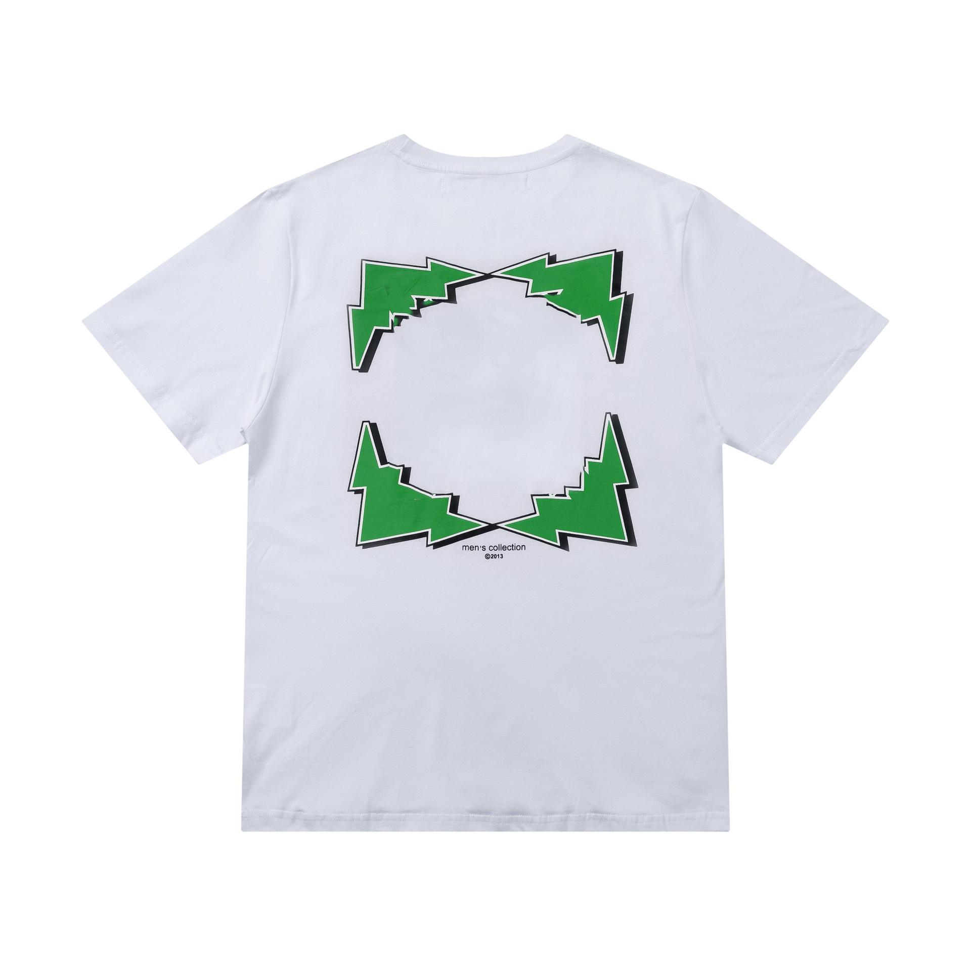 끄기 패션 크로스 유화 짧은 소매 티셔츠 남성 탑 티 티셔츠 캐주얼 여성 티셔츠 x 인쇄 여름 탑스 EU 크기