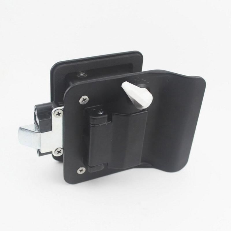 Travel Trailer Entry Door Lock Camper Handle With Keys RV Replacement For RV/Camper/Trailer ATV Parts