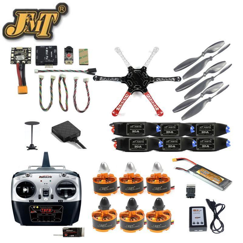 Unaved Cits Cits Citscopter 2.4G 8CH DIY DIY Drone FPV Обновление FPV с Radiolink Mini Pix M8N GPS Высота удерживает модель бессмысленных дронов