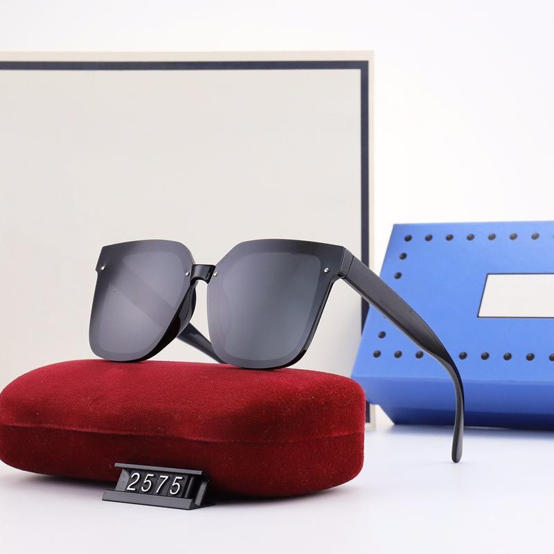 Lunettes de soleil à la mode pour femmes 5 couleurs classiques décontracté conduite extérieur design extérieur lunettes lunettes de haute qualité HD polarisée lentilles polaroides 2575