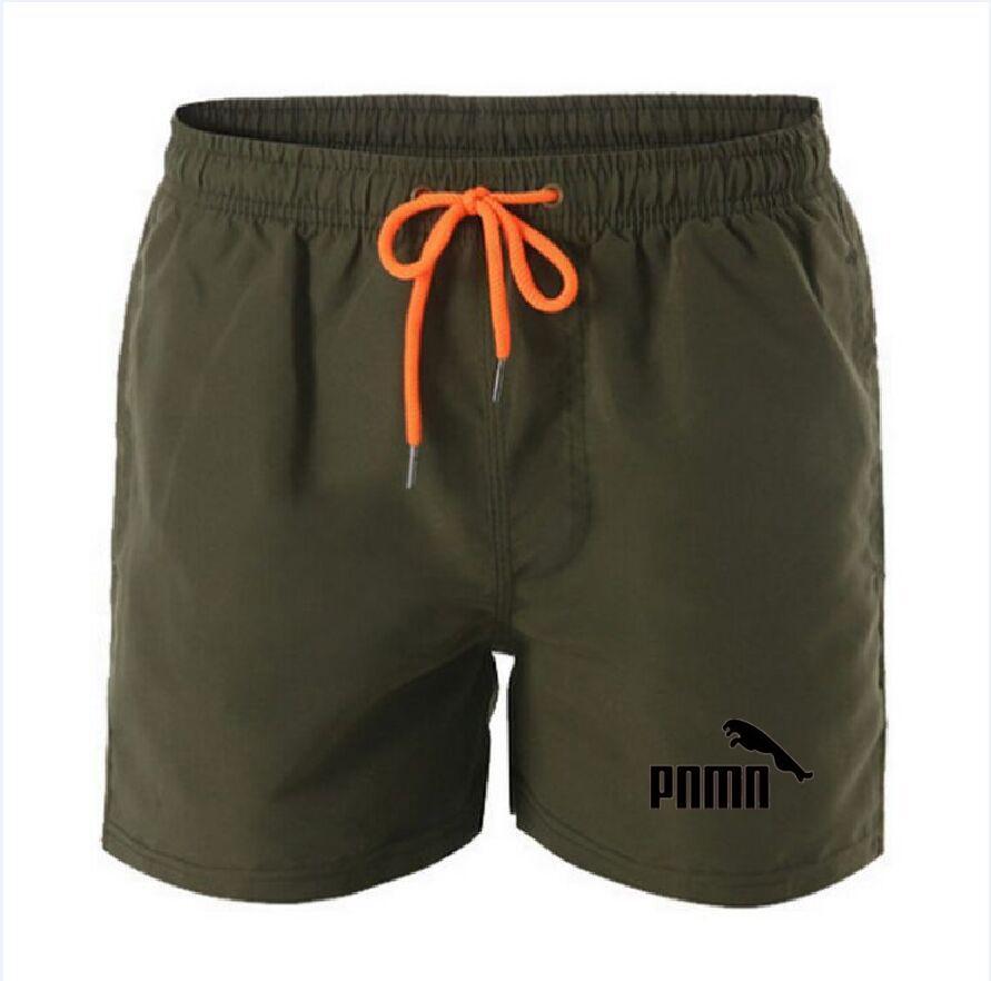 2021 Summer Casual Cotton Fashion Style Stampa Brand Stampa Pantaloncini maschile Coulisse Elastico Vita Pantaloni Beach Spiaggia 13 Colore di alta qualità 4XL